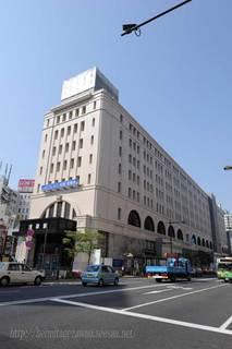 東武浅草駅をシフトレンズで