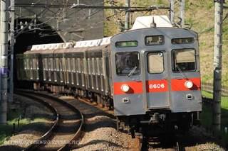 東急8500系の特徴車