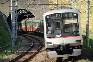 東急電鉄の電車5000系