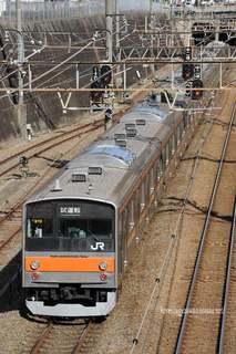 武蔵野線205系試運転