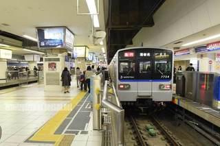 相模鉄道横浜駅ホームドア