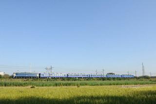 EF65-501牽引12系客車ELSL快速みなかみ