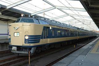 武蔵野線の583系わくわくドリーム号