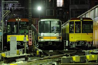 銀座線01系引退