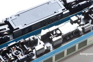 マイクロエース・キハ32新塗装バックミラー付き