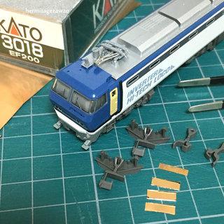 KATO Nゲージ3018 EF200