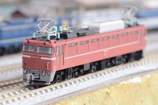 カトーEF81-81 Nゲージ