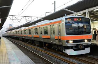 武蔵野線205系E231系