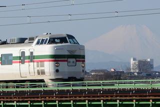 189系快速富士山