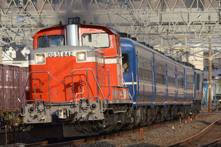 DD51、12系、EF64快速本物の出会い栃木号(の回送)