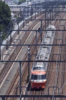 小田急ロマンスカー7000形LSE2018年7月定期運用離脱!