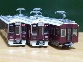 カトーNゲージ・阪急9300系