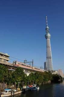 伊勢崎線の6050系電車